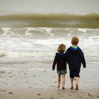 As brother and sister by Littleboyathome
