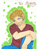 Vic Mignogna Anime Style by Anchoring-Dreams