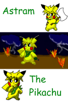 Astram The Pikachu by Pikacshu
