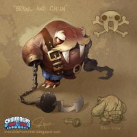 Skylanders Trap Team: Brawl and Chain by MURCHIEMONSTER