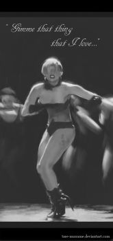 Lady Gaga Applause Study 2 by tare-musume