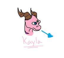 Kayla in Paint by NewLegend1