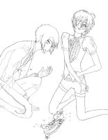 Line Art, Free To use but read my Descrip first by Ayumu-Haruto