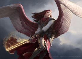 Angel of Thune for MtG by namesjames
