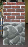 Brickwall and stone exercise by kennysback