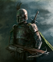 Boba Fett from the Past by Odobenus