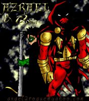 Azrael and Robin by angel-gidget