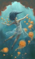 .Waltz of the Jellyfish. by Lii-chan