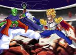 Gast Carcolh U7 VS Vegeta U13 by kibasennin