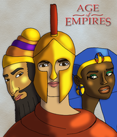 Age of Empires Portraits by DaBrandonSphere