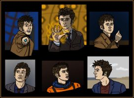 The Many Faces of Ten by Weaselon