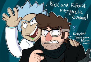Rick and Ford by itsaaudra