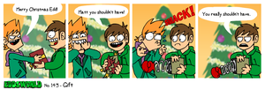 EWCOMIC No.143 - Gift by eddsworld