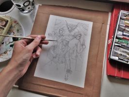 WIP (Ave, Frater) by Alsdale