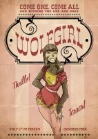 The Wolfgirl by paulorocker