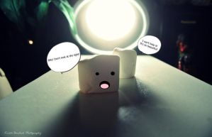 .Marshmallow Abduction. by mysticmoon13