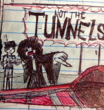 Tunnels and brian may by Sillyhatlovingbro