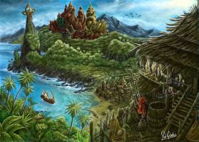 Mysterious Island by YanQuelais