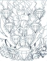 sonic universe Triple Threat fan cover 4 by trunks24