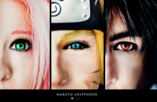 Naruto Shippuden: Team 7 by DidsRainfall
