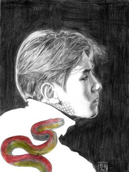 Cold Blooded (Baekhyun) by dubuart