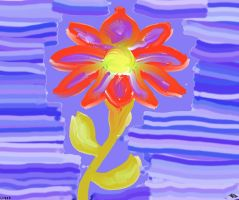 A simple flower for you v882 by lv888