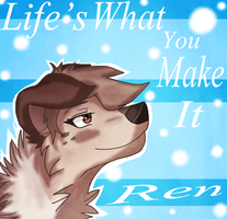 Life's what you make it [Skype Icon] by SpiderRen