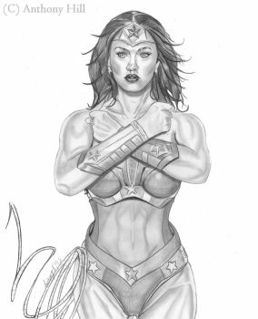 Wonder Woman: Strength by Wanted75