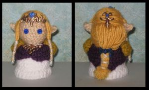 Princess Zelda Amigurumi by Craftigurumi