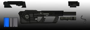 Heckler and Koch M6 Carbine Base by EricJ562