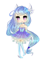 Chibi Commission for OtomeYoukaiTemeraire by hinatacookie2008