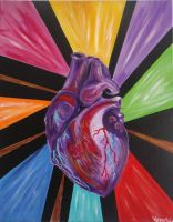 Triumph of a (Sacred) Heart by VespertineArt