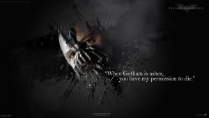TDKR Character Poster - Bane by satorifrenzy