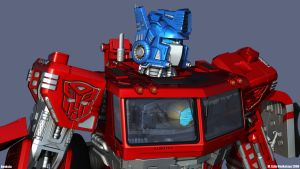 Optimus HD Bot mode 2 by Venksta
