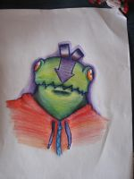 Abe like frog by OllusC