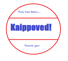 Kaipproved stamp by musasgal