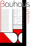 The Bauhaus Typeface by hvymtlrocks