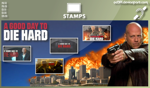 Stamps - 2013 - Die Hard 5 A Good Day To Die Hard by od3f1
