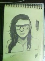 Skrillex by thiphobia