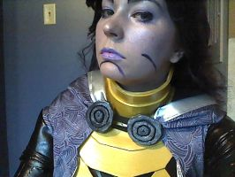 Tali makeup final version 2 by TaliBelle-Cosplay