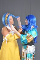 We Both Have Blue Hair... So she's not my rival? by FakeStar23