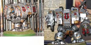 Grey Knight Dreadnought Front by Lord-Fingolfin