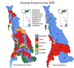 Cascadian Federal Election, 2012 by canyon-jumper