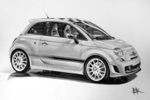 Fiat 500 Abarth by bogdanschi