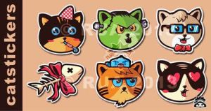 CATSTICKERS by ruados