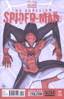 Superior Spider-Man #1 sketch cover by shinlyle