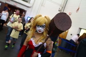 Pop Culture Expo 2014 - Harley Quinn 2 by VideoGameStupid