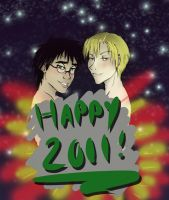 Happy 2011 by glitchb0t