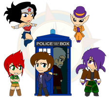 Assort Chibis - Set 27 by Dragon-FangX