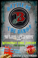 Battle of the Bands Poster by Patt-Ytto